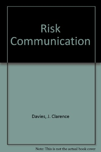 9780891641032: Risk Communication