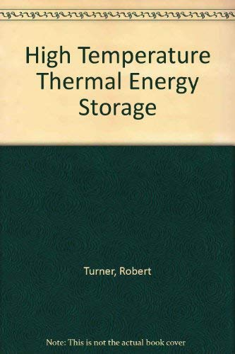 9780891680079: High Temperature Thermal Energy Storage