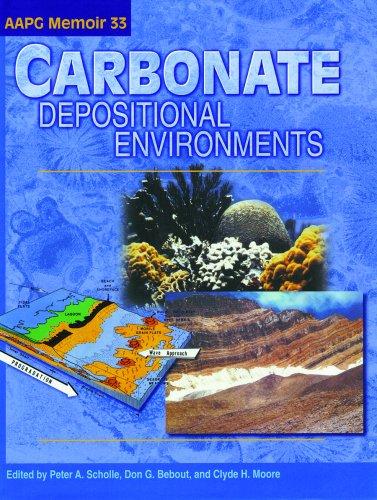 9780891813101: Carbonate Depositional Environments (Aapg Memoir)
