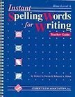9780891870050: Instant Spelling Words for Writing: Blue Level