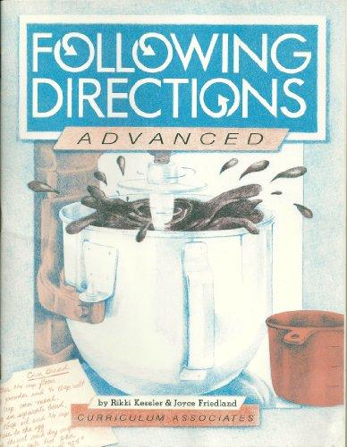 Following Directions: Advanced/Ac163.5 (5 Pack): Rikki Kessler; Joyce