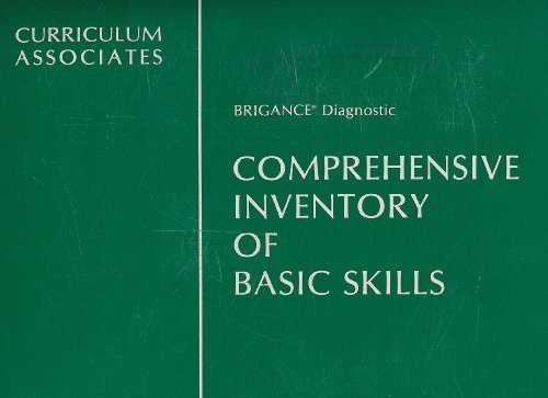 9780891876809: Brigance Comprehensive Inventory of Basic Skills (K-8)