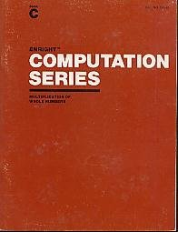 9780891877523: Enright Computation Series (C. Multiplication of Whole Numbers)