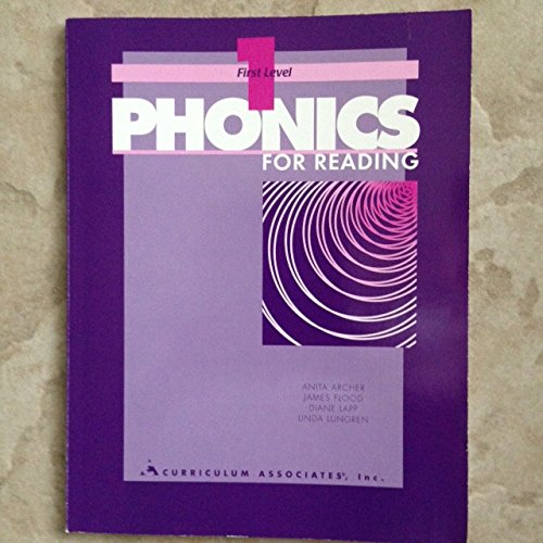 9780891879916: Phonics for Reading: First Level