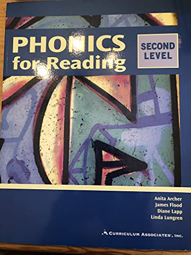 9780891879923: Phonics for Reading : Level 2