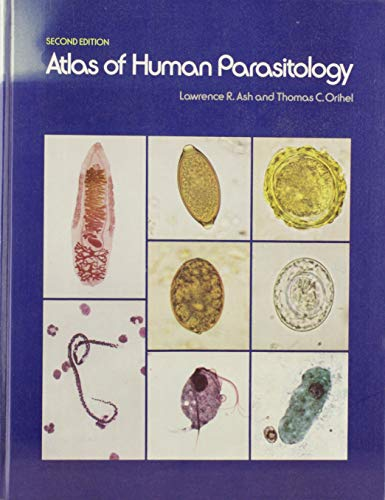 9780891891796: Atlas of Human Parasitology