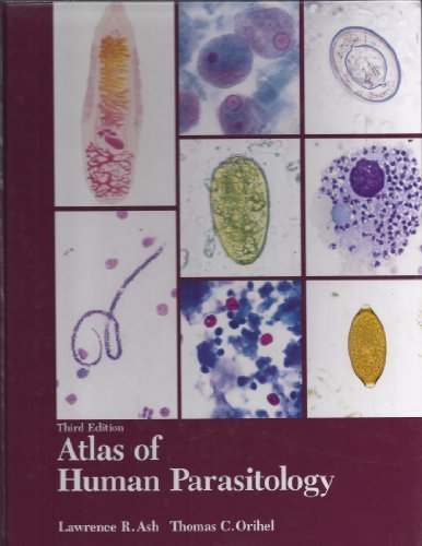 9780891892922: Atlas of Human Parasitology