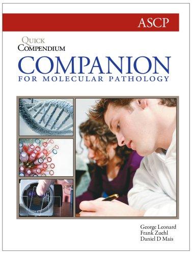 9780891895909: Quick Compendium Companion for Molecular Pathology