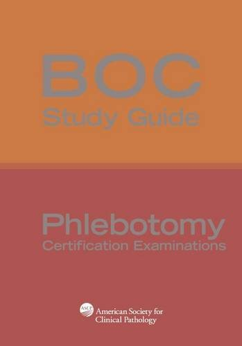 9780891896128: BOC Study Guide: Phlebotomy Certification Examinations