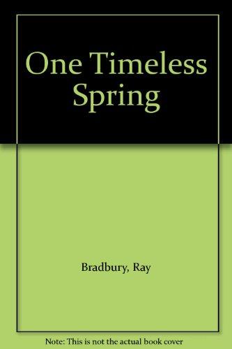 9780891903451: One Timeless Spring