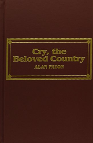 9780891903796: Cry, the Beloved Country