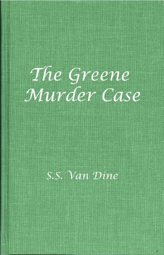 9780891905141: The Greene Murder Case