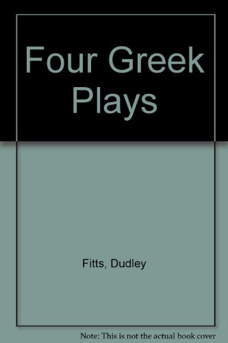 9780891906995: Four Greek Plays