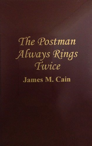 a summary of the postman always rings twice by james m cain The postman always rings twice:in 1946, based on the crime novel of the same name by james m cain the film features all the elements of an enduring noir classic: sexy leading players, tight script and direction, and a shocking climax.