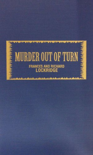 9780891909149: Murder Out of Turn