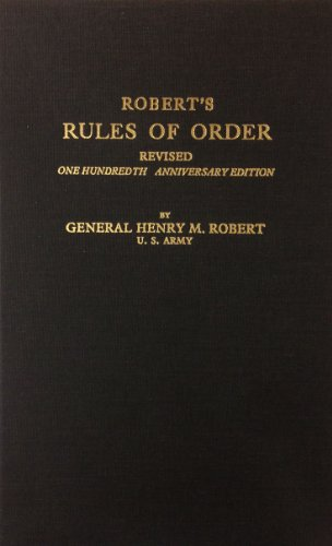 9780891909903: Robert's Rules of Order, Revised
