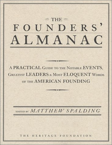 9780891950974: The Founders' Almanac