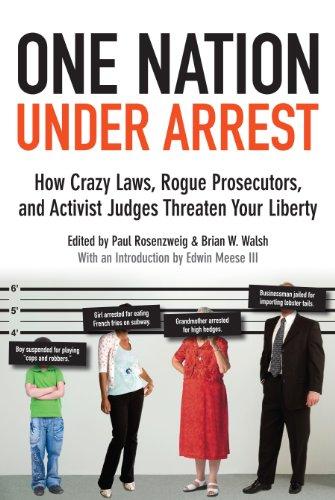 One Nation Under Arrest: How Crazy Laws,: Paul Rosenzwieg, Brian