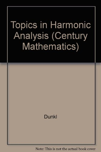9780891974543: Topics in Harmonic Analysis (Century Mathematics)