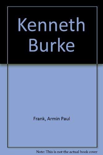 9780891978169: Kenneth Burke