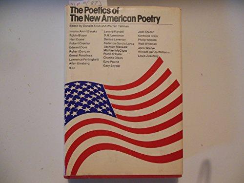 Poetics of the New American Poetry: Donald M. Allen