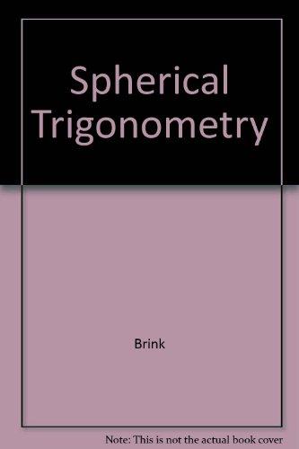 9780891979463: Spherical Trigonometry