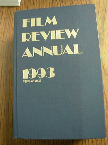 9780891981466: Film Review Annual 1993: Films of 1992