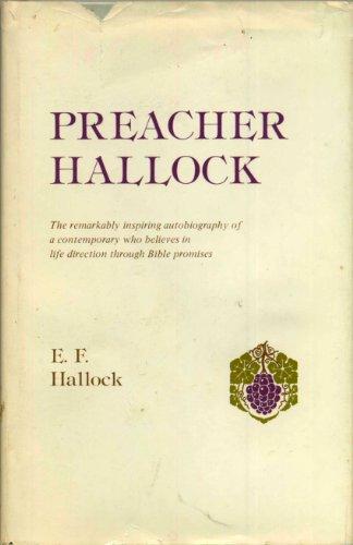 9780892020072: Preacher Hallock