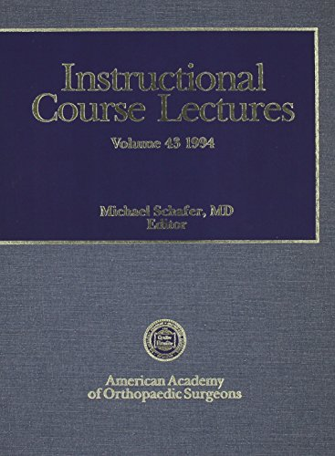 9780892031023: Instructional Course Lectures, Vol. 43, 1994 (AAOS Instructional Course Lectures)