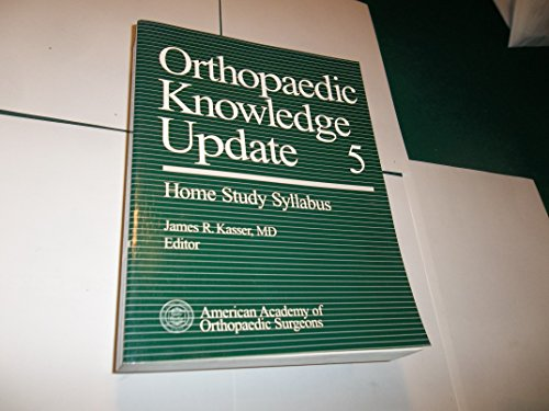 9780892031146: Orthopaedic Knowledge Update (v. 5)