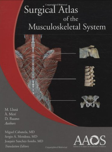 9780892033942: Surgical Atlas Of The Musculoskeletal System