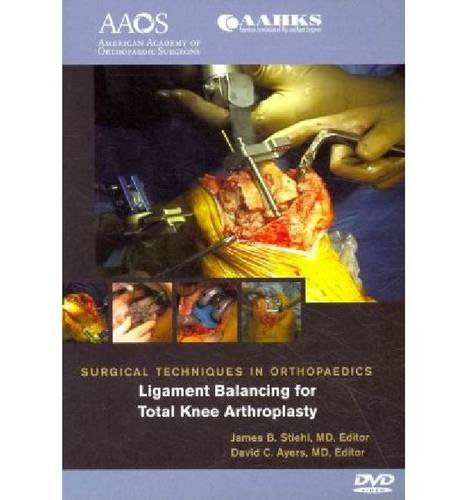9780892034604: STO Ligament Balancing in Total Knee Arthroplasty (Surgical Techniques in Orthopaedics)