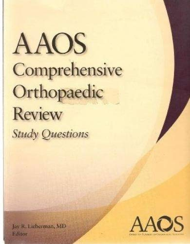 9780892035977: AAOS Comprehensive Orthapaedic Review Study Questions