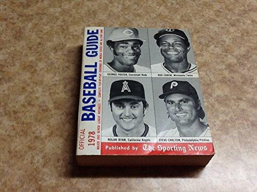 9780892040315: Official Baseball Guide 1978