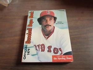 Official 1979 Baseball Dope Books: Rice, Jim