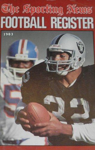 Football Register 1983 Edition: Balzer, Howard; editor