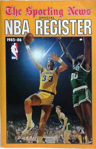 9780892041930: NBA Register 85-86