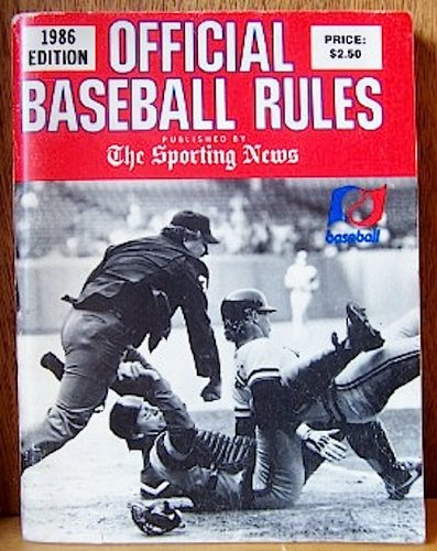 9780892042111: Official Baseball Rules