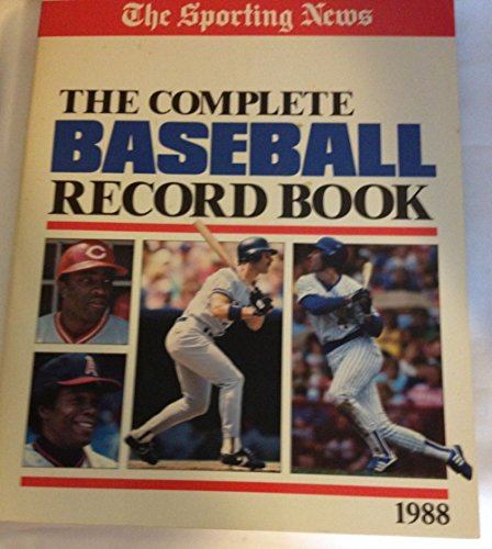 The Sporting News Complete Baseball Record Book, 1988
