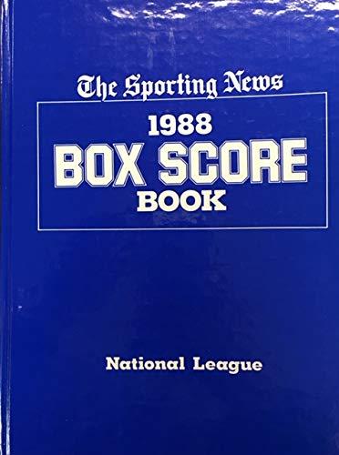 9780892042845: 1988 Box Score Book: National League (National League Box Scores and Official Averages)