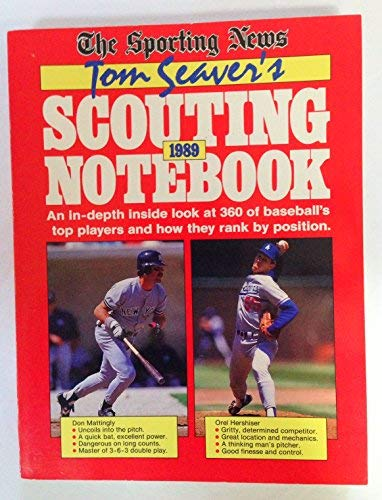 9780892043019: Tom Seaver's Scouting Notebook 1989