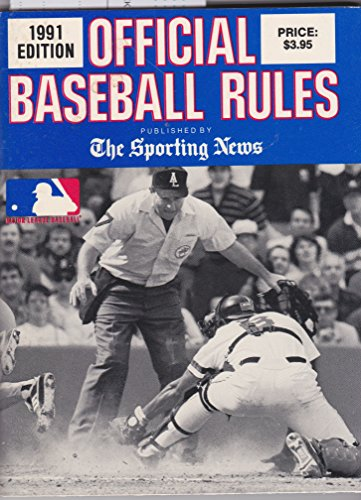 9780892043859: Official Baseball Rules