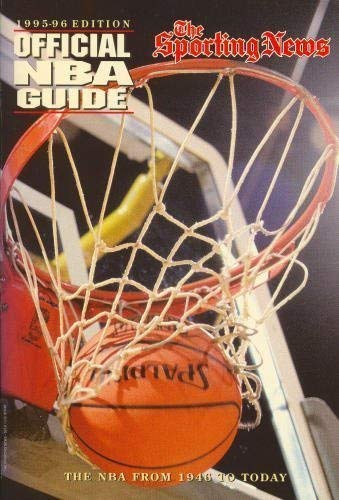 9780892045310: The Sporting News Official NBA Guide 1995-96 Edition