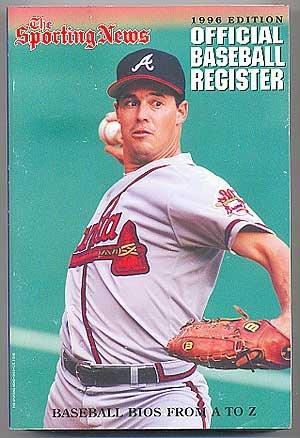 9780892045457: The Sporting News Official Baseball Register 1996