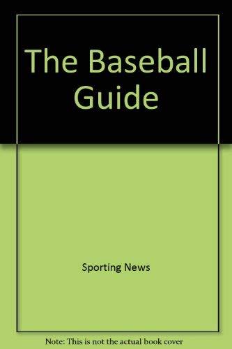 9780892046041: Baseball Guide 1999