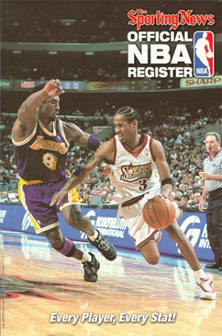 9780892046201: The Sporting News Official Nba Register: 1999-2000 Edition (Serial)