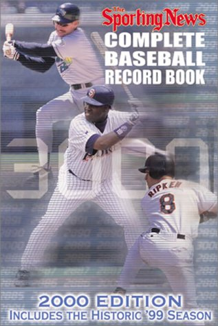 9780892046270: Complete Baseball Record Book - 2000 Edition