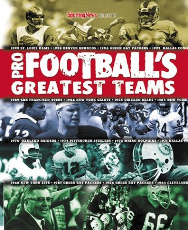 9780892046935: Sporting News Selects Pro Football's Greatest Teams
