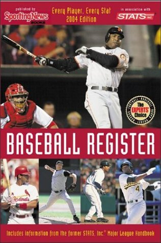 9780892047260: Baseball Register : Every Player, Every Stat