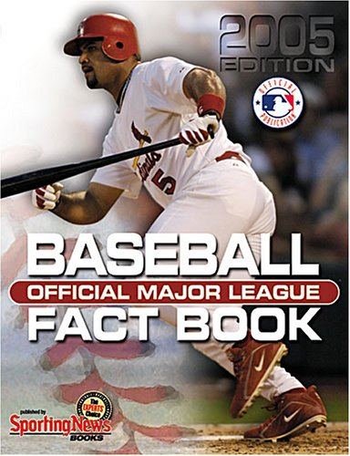 9780892047710: Official Major League Baseball Fact Book: 2005 Edition